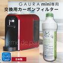 【1年毎に交換推奨】 水素水生成器 GAURAmini(ガウラミニ)専用交換用カーボンフィルター メンテナンス用 GAURA 水素水 ウォーターサーバー 日本製 SPU