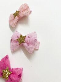 【大人気商品3colorセット】誕生日プレゼント 日本製 滑り止め付き ベビークリップ 赤ちゃんヘアピン 赤ちゃん ヘアクリップ  ヘアピン ベビーピン りぼんピン 赤ちゃんりぼん 写真 撮影 りぼんヘアアクセ 1歳誕生日 おしゃれ ベビーヘアクリップ