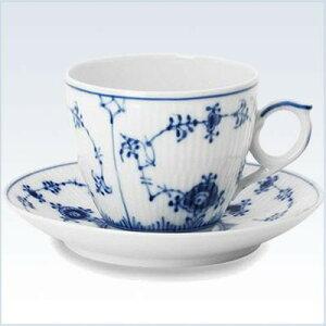 ロイヤルコペンハーゲン ROYAL_COPENHAGEN プレイン コーヒーカップ&ソーサー 101-071 デンマーク製 ブランド箱入り