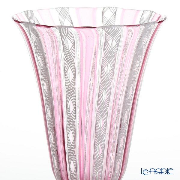 バラリン ワイングラス ルビー×ホワイト h23×口径9cm 引き出物 結婚祝い 食器