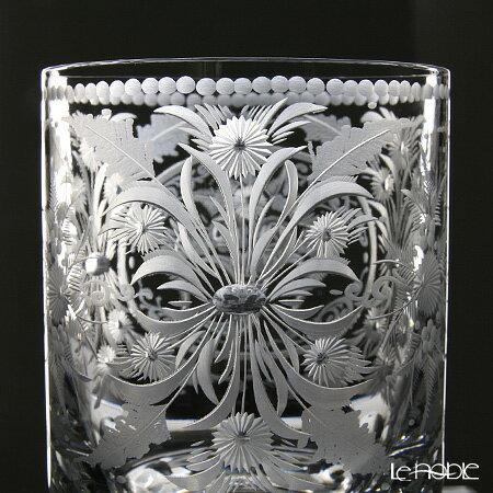 クリスタル・ドゥ・ノーブル アンティーク フルオーナメント オールドファッション 9.5cm 敬老の日ギフト ロックグラス 酒器 お祝い 引き出物 結婚祝い 食器