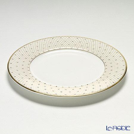 プラウナ・ジュエリー PROUNA Made with SWAROVSKI ELEMENTS プリンセスゴールド プレート 21cm 皿 引き出物 結婚祝い 食器
