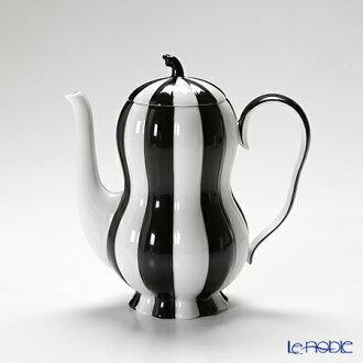 便 (便) 卡梅倫黑色與白色 (7027) 摩卡壺 0.5 L (015)