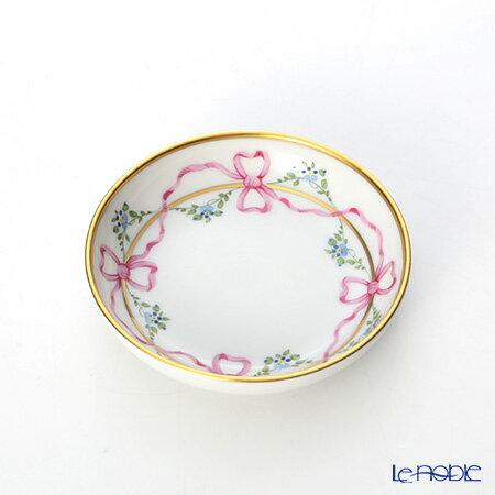アウガルテン (AUGARTEN) ビーダーマイヤー リボン(6793) ラウンドディッシュ 9cm(069) プレート 皿 引き出物 結婚祝い 食器