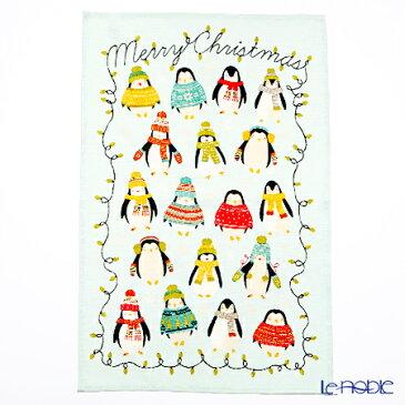 【ポイント14倍】アルスターウィーバーズ ペンギン ライト(クリスマス) リネン ティータオル ULSTER WEAVERS キッチン 用品 雑貨 調理