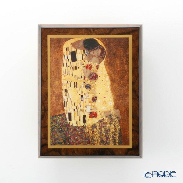 エルコラーノ イタリア アートオルゴール(エリーゼのために) クリムト 「接吻」【楽ギフ_包装選択】【楽ギフ_のし宛書】