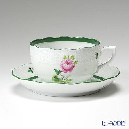 ヘレンド(HEREND) ウィーンのバラ 00724-0-00/724 ティーカップ&ソーサー 200cc【楽ギフ_包装選...