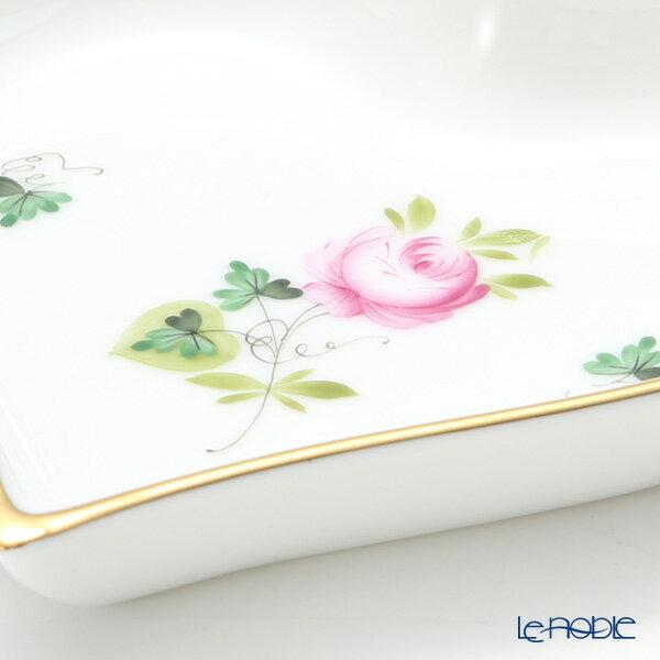 ヘレンド(HEREND) ウィーンのバラ シンプル 07703-0-00 ハートトレイ【楽ギフ_包装選択】【楽ギフ_のし宛書】 ウィーンのバラ シンプル(VRHS) プレート お皿 引き出物 結婚祝い 食器