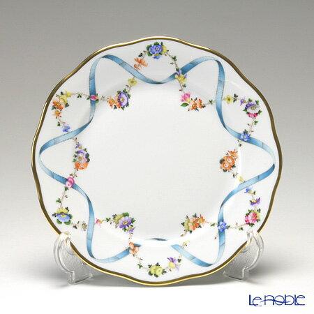 ヘレンド(HEREND) フラワーリボン 20517-0-00 プレート 19cm フラワーリボン(FLR) 皿 引き出物 結婚祝い 食器