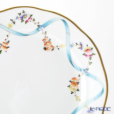ヘレンド(HEREND) フラワーリボン 20524-0-00 プレート 25cm フラワーリボン(FLR) お皿 引き出物 結婚祝い 食器