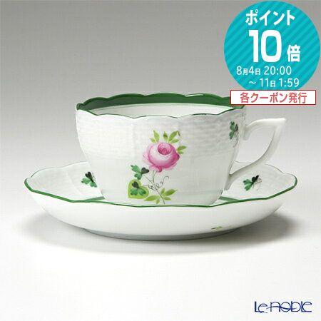ヘレンド(HEREND) ウィーンのバラ 00730-0-00/730 ティーカップ&ソーサー(兼用) 200cc【楽ギフ_...