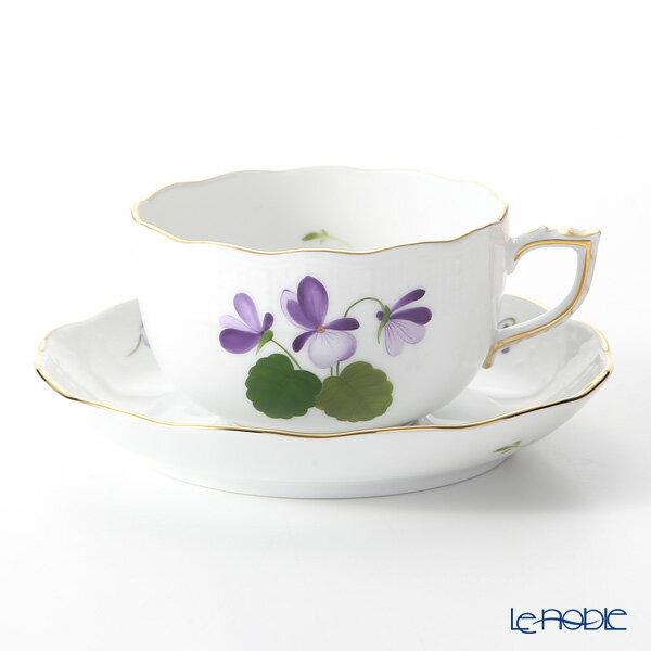 ヘレンド(HEREND) バイオレット(ゴールド) VIOLET 00724-0-00 ティーカップ&ソーサー 200cc おしゃれ かわいい 食器 ブランド 結婚祝い 内祝い