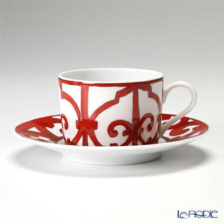 エルメス (HERMES) ガダルキヴィール ティーカップ&ソーサー 160ml おしゃれ かわいい 食器 ブランド 結婚祝い 内祝い