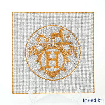 エルメス (HERMES) モザイク ヴァンキャトル プチカレ(プレート) 23×23cm No.5 皿 お皿 食器 ブランド 結婚祝い 内祝い