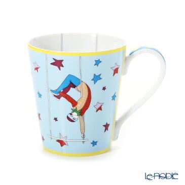 エルメス (HERMES) サーカス NEW マグ(ブルー)250ml 045031P マグカップ おしゃれ かわいい 食器 ブランド 結婚祝い 内祝い