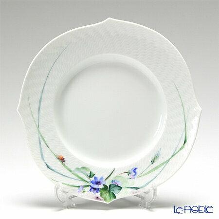 【ポイント10倍】マイセン (Meissen) 森の声 614501/29470/03 プレート 19cm Motiv No.3 ユキワリソウ 皿 食器 ブランド 結婚祝い 内祝い