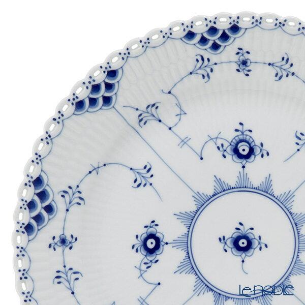 ロイヤルコペンハーゲン (Royal Copenhagen) ブルー フルーテッド フルレース プレート(フラット) 25cm 1103625 ロイヤル・コペンハーゲン 北欧 ブルーフルーテッド 皿 引き出物 結婚祝い 食器
