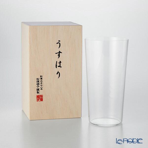 松徳硝子 うすはり タンブラー(LL)  ギフト 夏ギフト 酒器 うすはりグラス お祝い 引き出物 結婚祝い 食器
