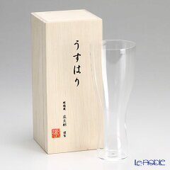 松徳硝子 うすはり ビールグラス SC 【木箱入】【楽ギフ_包装選択】【楽ギフ_のし宛書】
