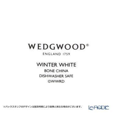 ウェッジウッド(Wedgwood)ウィンターホワイトティーカップ&ソーサー4客セット