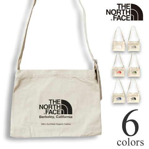 ノースフェイス ミュゼットバッグ オーガニックコットン ショルダーバッグ THE NORTH FACE Musette Bag NM82041