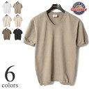 グッドウェア 半袖Tシャツ GOODWEAR V-NECK S/S T-SHIRTS CUFF AND BOTTOM RIB Vネックリブ付きTシャツ NGW1701 【ユニセックス】 その1