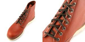 レッドウイングシューレースレザーブーツレースホワイトタンチェスナッツバーガンディダークコーヒー靴紐REDWING純正80インチ200cm国内正規品靴ひも靴ヒモブーツアイリッシュセッターベックマン【メール便可能】