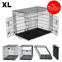 送料無料 ペットケージ 折りたたみ 犬用 ペット ケージ 小屋 サークル 猫 キャットケージ 組立簡単 室内 犬小屋 室内用 屋内用 XLサイズ 小型犬 中型犬 大型犬