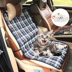 送料無料 犬 車 シート ペット ドライブシート 助手席用 お出掛け カーシート 汚れに強い 掃除 簡単 座席シートカバー チェック柄
