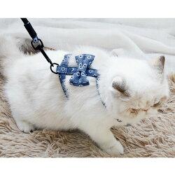 送料無料 快適おしゃれ 猫 ハーネス リード 猫用ハーネス 胴輪 散歩