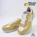 【Special Price】Atlantic STARS アトランティックスターズ レディース スニーカー VEGA COO-86B ゴールド 金 ラメ イタリア製 国内正規品【送料無料】