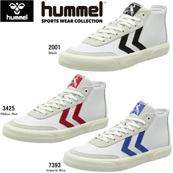 メンズ靴, スニーカー 30OFF hummel STOCKHOLM MID HM64432