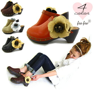 -Fee fee season great attention & popular removable clip type corsage in style with comfortable ♪ corsage sabosandal 132F