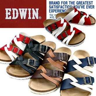 Edwin Sandals men's EDWIN EW9165 casual sandal shoes for men brand mesn's sandal-