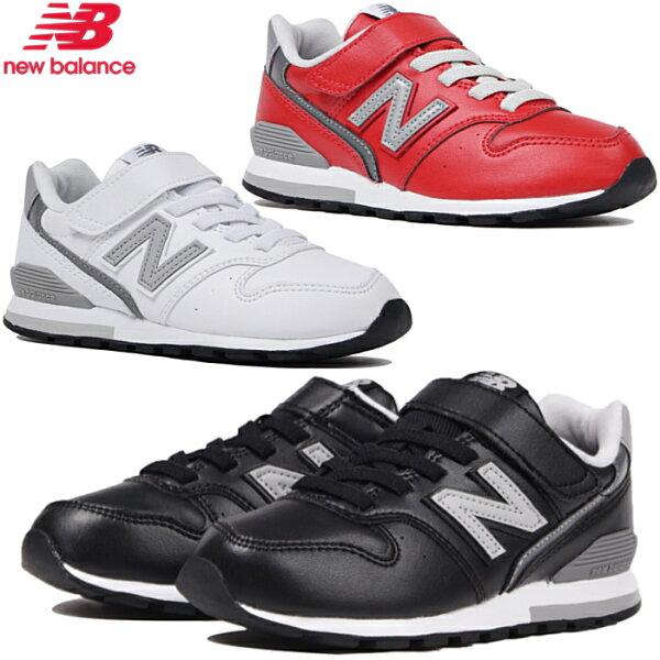 ニューバランス996キッズジュニアスニーカーNewBalanceYV996L靴子供靴スニーカー女の子男の子