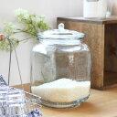 ダルトン(DULTON) GLASS COOKIE JAR ガラスクッキージャー(CH00-H05)【米びつ 5kg ライスボックス 保存容器 ガラス瓶 キャニスター 北欧雑貨】【北欧 ナチュラル おしゃれ カフェ 雑貨】