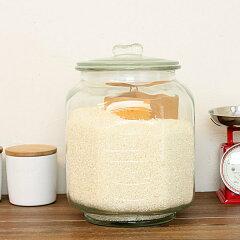 DULTON(ダルトン)/GLASS COOKIE JAR ガラスクッキージャー(CH00-H05)【米びつ 5kg ライス...