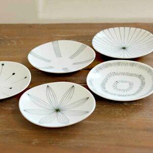 【小皿 皿 食卓 食器 おしゃれ 磁器】NICOTT(ニコット) 絵変わり小皿【小皿 皿 食卓 食器 おし...