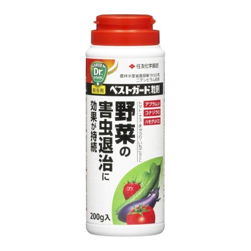ベストガード粒剤 200g【殺虫剤】【アブラムシ】【コナジラミ】【住友化学園芸】