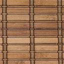 燻製竹 スモークドバンブースクリーン RC-1240w 幅176cm高さ180cm  HAYATON ロールアップ すだれ 竹ロールスクリーン 2