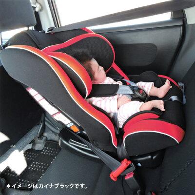リーマンカイナブラックチャイルドシートジュニアシート新生児から7頃歳CG0002