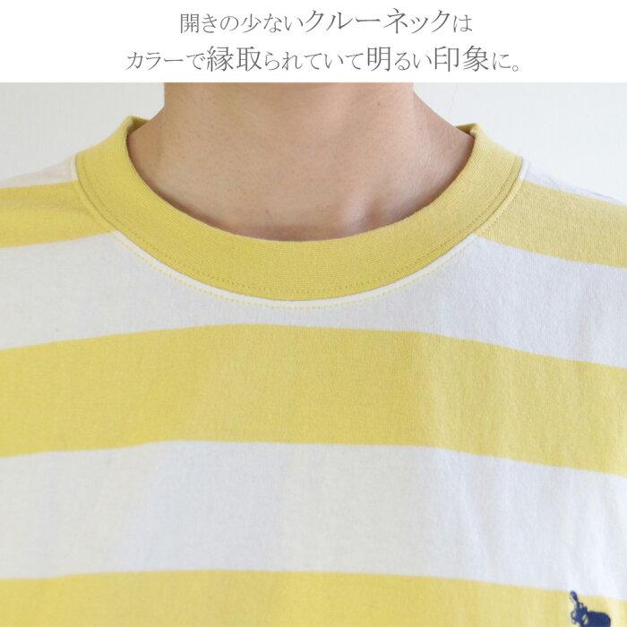 BIGボーダー オーバー Tシャツ