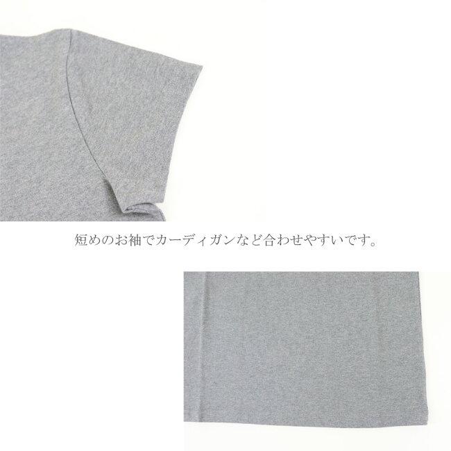 ロゴ サークル プリント Tシャツ