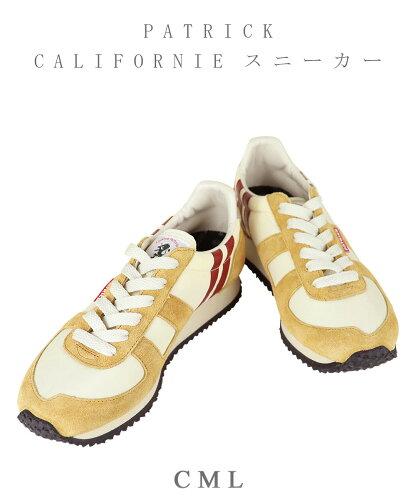 CALIFORNIE カリフォルニー ライン入り スニーカー