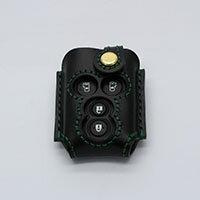 【オーダー】ダイハツ ウェイク LS600 タント 本革 レザー スマートキーケース スマートキーカバー キーケース バックチャーム オーダー プレゼント ハンドメイド  窓付き