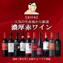 本間チョースケ厳選【赤ワイン10本セット】イタリア政府公認ソムリエと本間チョース