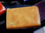 [ヘッジホッグ]Wファスナー財布