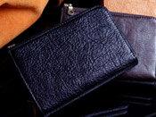 財布 メンズ 革 Men's サイフ 馬ヌメ革のソフトなウォレットWファスナー財布