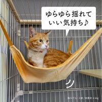 ケージ猫2段キャットケージおしゃれ木製フレームハンモック85cm118cm54cmゲージ大型多頭飼いステップ猫用いたずら防止お留守番脱走防止【送料無料】