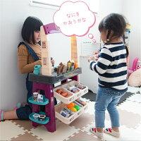 お店屋さんごっこおもちゃままごとセットお店やさんごっこおままごとセットアイスクリーム屋さんごっこ遊び女の子男の子|レジスター食材食べ物知育玩具3歳4歳5歳おままごとグッズプレゼント誕生日かわいいリンク13【送料無料】_85142
